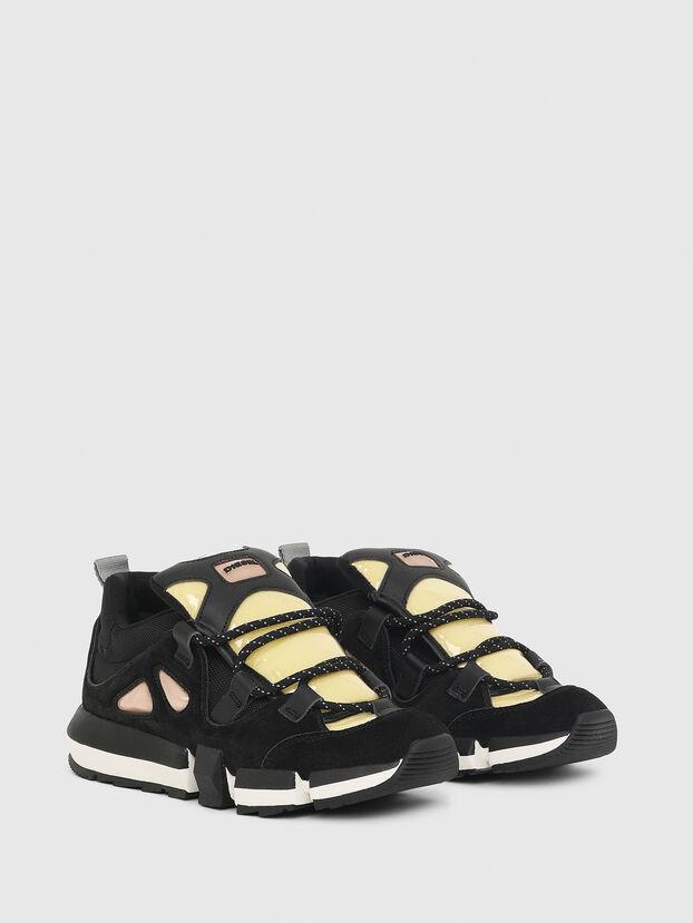 H-PADOLA SL W, Black/Yellow - Sneakers