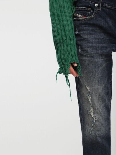 Diesel - Belthy Ankle 084YY, Dark Blue - Jeans - Image 4
