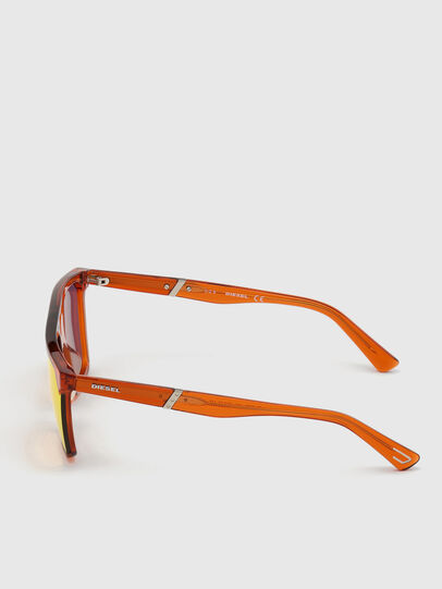 Diesel - DL0323, Orange - Sunglasses - Image 3