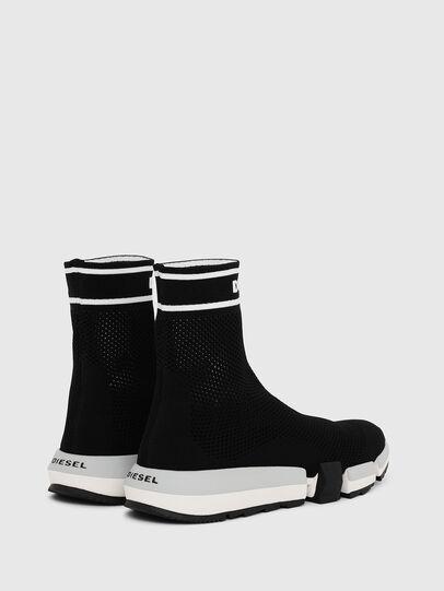 Diesel - H-PADOLA NET W, Black - Sneakers - Image 3