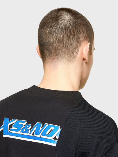 Diesel - K-JARGON, Black - Sweaters - Image 5