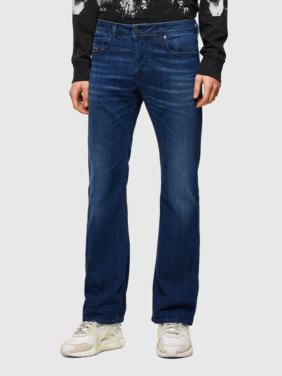 Diesel - Zatiny Bootcut Jeans 069SF, Dark Blue - Jeans - Image 1