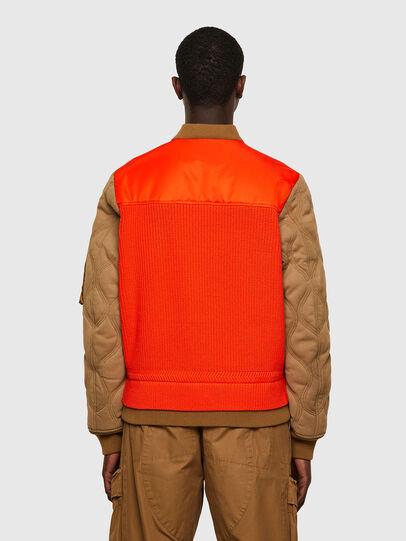Diesel - K-OHIO, Brown/Orange - Jackets - Image 2
