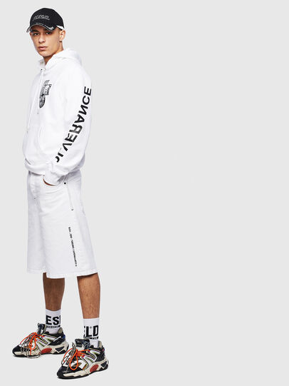 Diesel - S-GIRK-HOOD-S4, White - Sweatshirts - Image 8