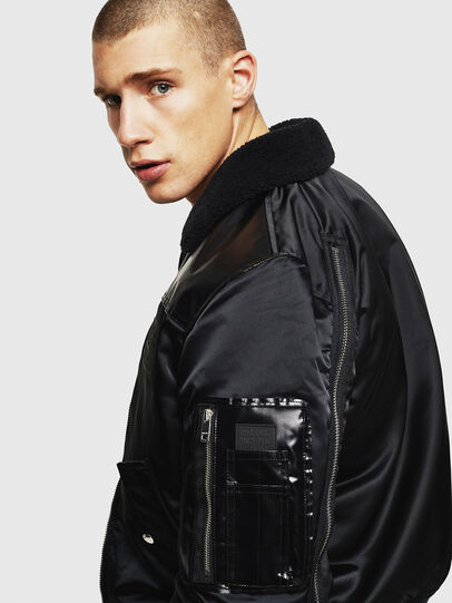 Diesel - W-FEDOVIK, Black - Winter Jackets - Image 5