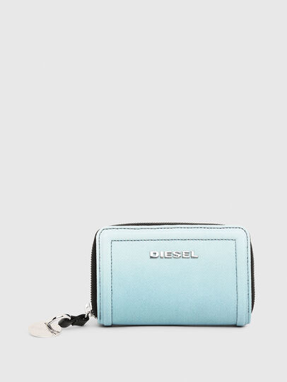 Diesel - BUSINESS LC, Light Blue - Small Wallets - Image 1