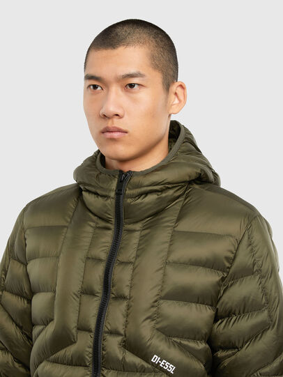 Diesel - W-DWAIN, Military Green - Winter Jackets - Image 3