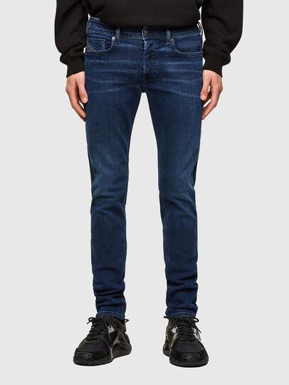Diesel - Sleenker Skinny Jeans 009QI, Dark Blue - Jeans - Image 1