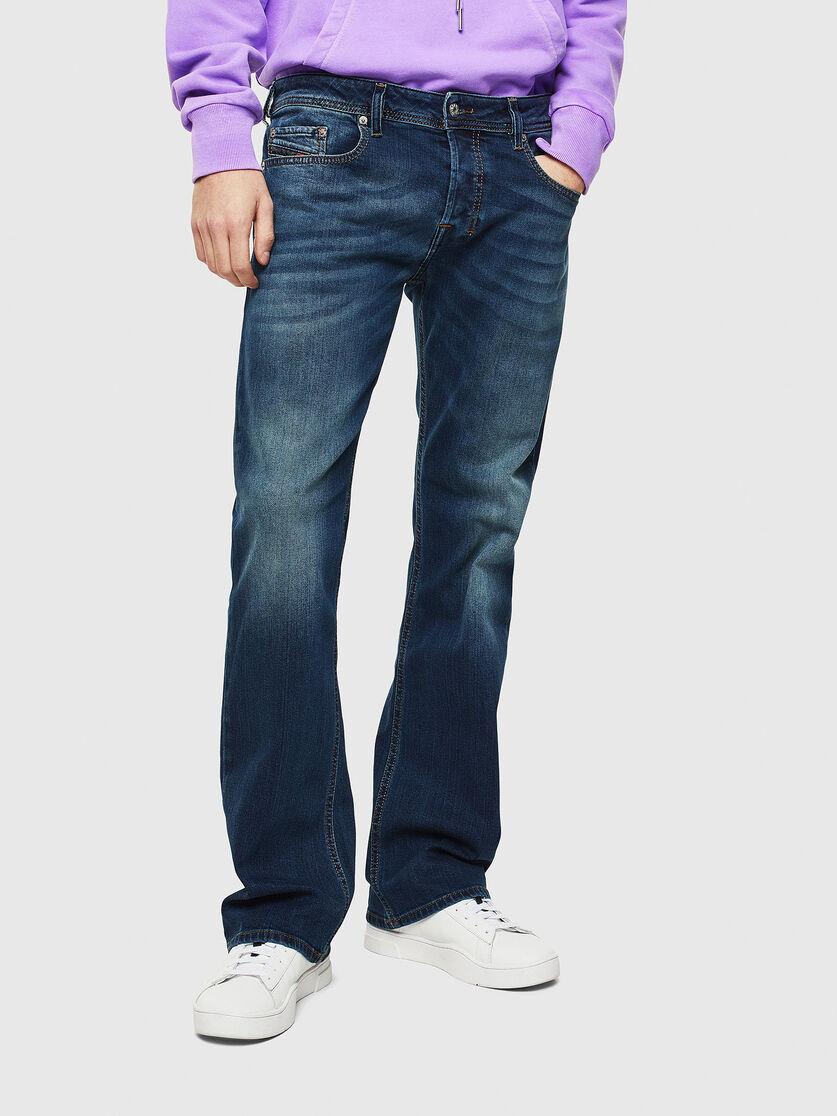 check out new concept sale online ZATINY 084BU Men: Bootcut Dark blue Jeans | Diesel