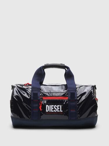 Duffle bag in ripstop with contrast zip