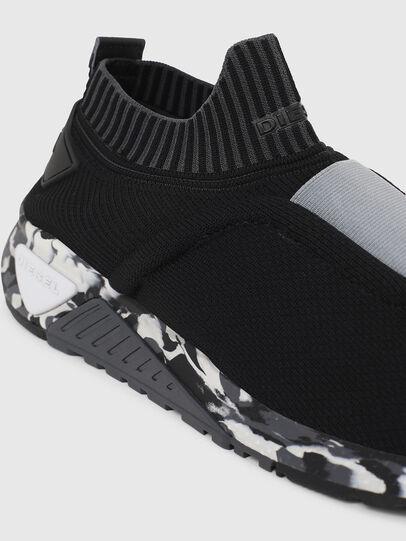 Diesel - S-KB SE, Black/Grey - Sneakers - Image 4