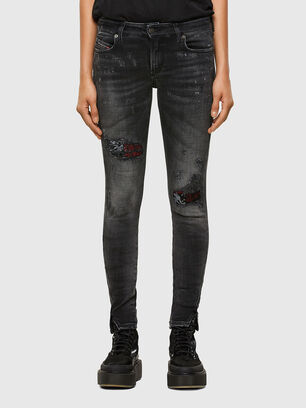D-Jevel 009JN, Black/Dark Grey - Jeans