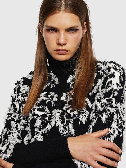 Diesel - M-CV-FURS, Black - Sweaters - Image 3