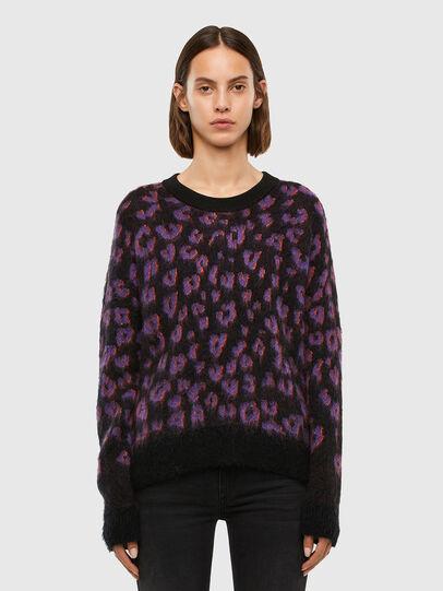 Diesel - M-RHONDA, Violet/Black - Sweaters - Image 1
