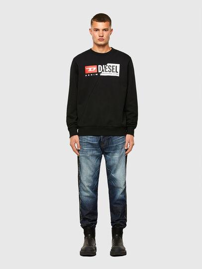 Diesel - S-GIRK-CUTY, Black - Sweatshirts - Image 4