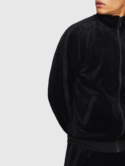 Diesel - UMLT-MAX-CZ, Black - Sweatshirts - Image 3