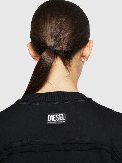Diesel - F-LYANY-H, Black - Sweatshirts - Image 5