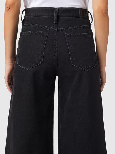 Diesel - D-Akemi Bootcut Jeans Z09RL, Black/Dark Grey - Jeans - Image 4