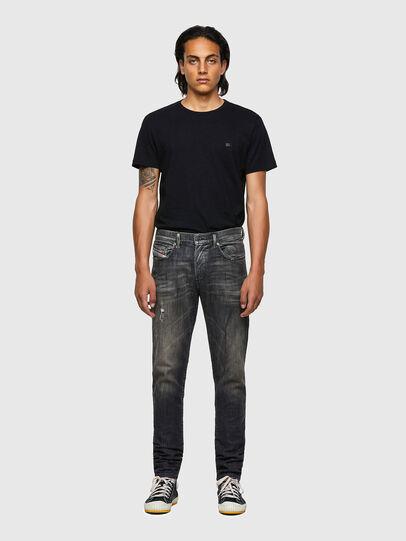 Diesel - D-Strukt Slim JoggJeans® 09B54, Black/Dark Grey - Jeans - Image 5