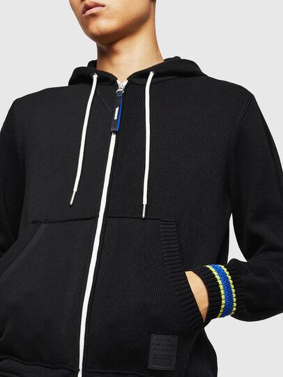 Diesel - K-SAMU, Black - Sweaters - Image 4