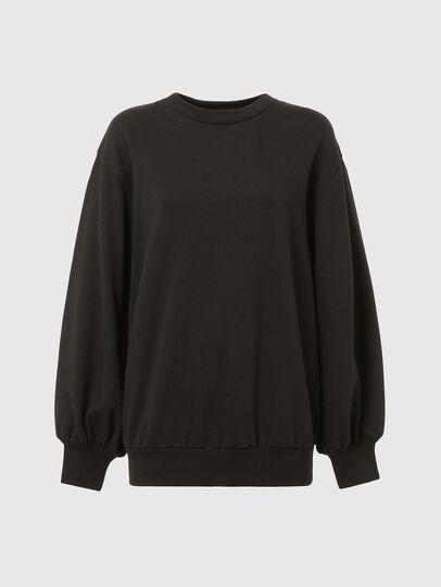 Diesel - F-ROSETTA, Black - Sweatshirts - Image 7