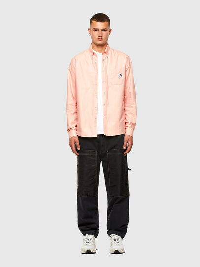 Diesel - S-JAMES, Pink - Shirts - Image 5