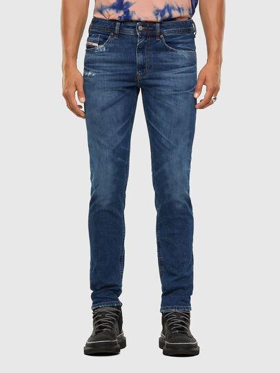 Diesel - Thommer Slim Jeans 009DE, Dark Blue - Jeans - Image 1
