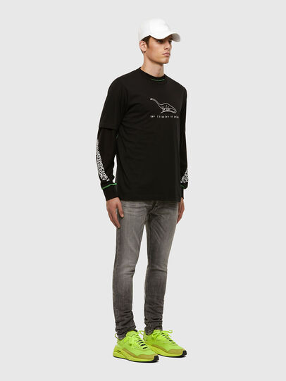 Diesel - Tepphar 009FP, Light Grey - Jeans - Image 5