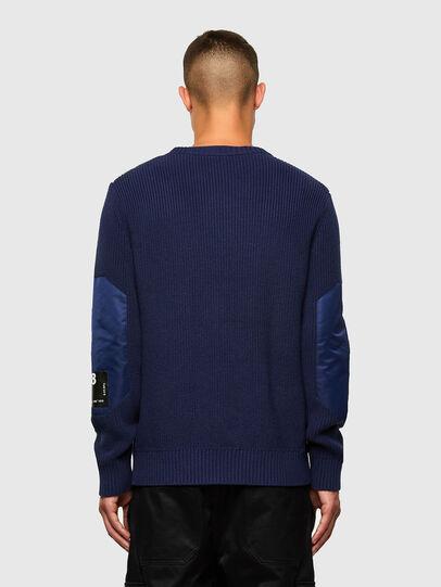 Diesel - K-GILLING, Blue - Sweaters - Image 2