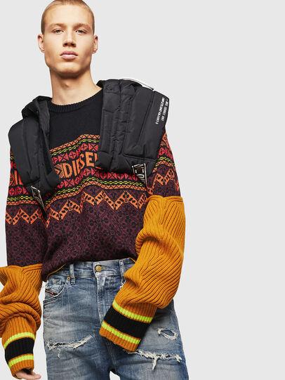 Diesel - K-CV-ALLJAC, Multicolor/Black - Sweaters - Image 5