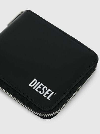 Diesel - HIRESH XS ZIPPI, Negro - Carteras Con Cremallera - Image 4