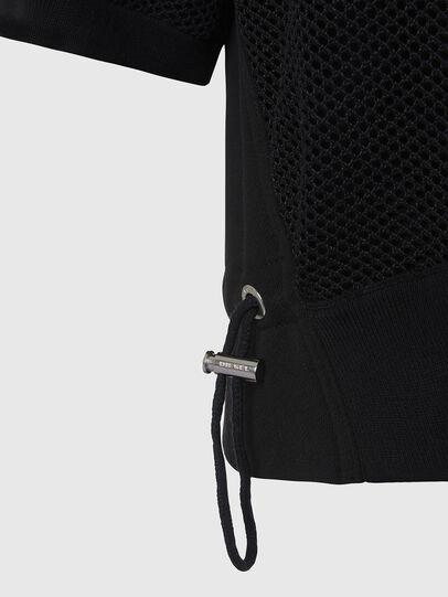 Diesel - M-ROSSI, Black - Sweaters - Image 3