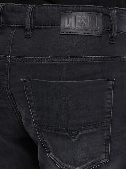Diesel - Krooley JoggJeans 009KD, Black/Dark Grey - Jeans - Image 4