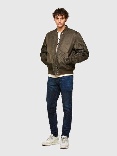 Diesel - D-Strukt Slim JoggJeans® 069TY, Dark Blue - Jeans - Image 6
