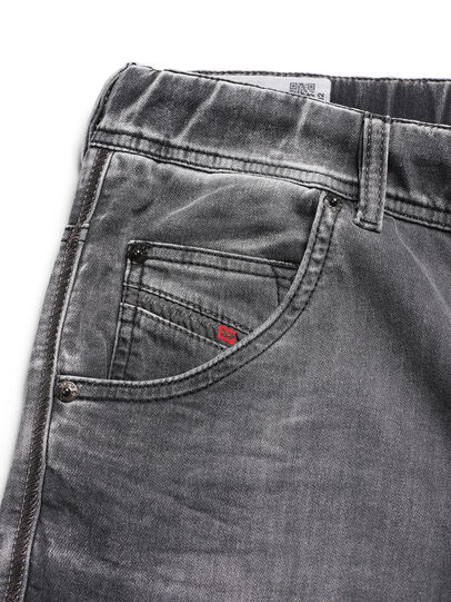 Diesel - D-ARGO-JOGG, Black/Dark Grey - Pants - Image 5