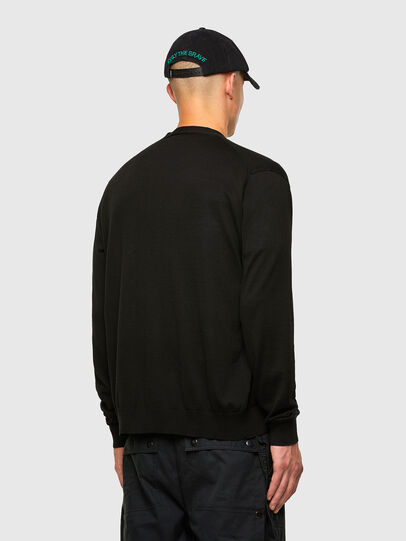 Diesel - K-JAMIE, Black - Sweaters - Image 5