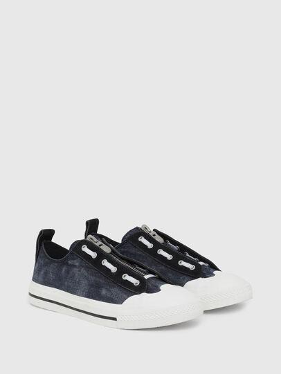Diesel - S-ASTICO LZIP, Azul Oscuro - Sneakers - Image 2