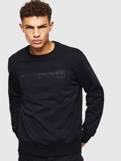 Diesel - S-CORY, Black - Sweatshirts - Image 1