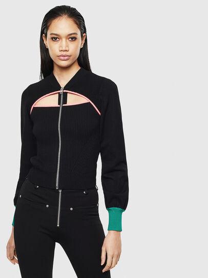 Diesel - M-LANAE, Black - Sweaters - Image 1