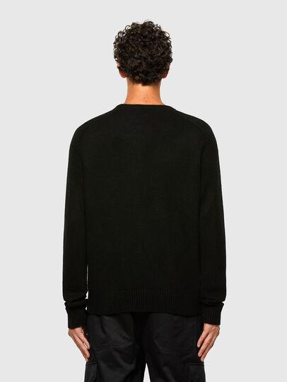 Diesel - K-WILSON, Black - Sweaters - Image 2