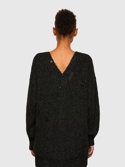 Diesel - M-CORAL, Black - Sweaters - Image 2