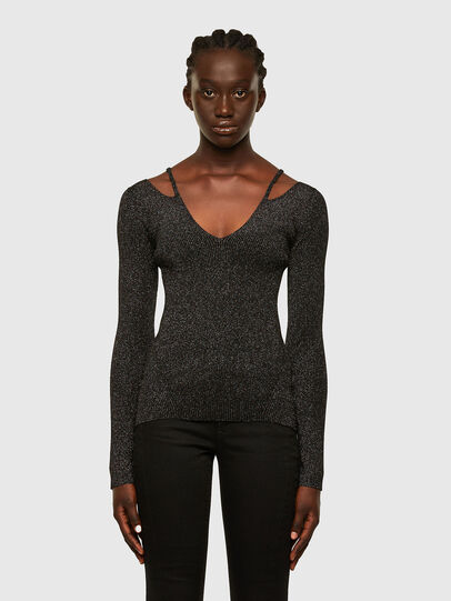 Diesel - M-AMBER, Black - Sweaters - Image 1