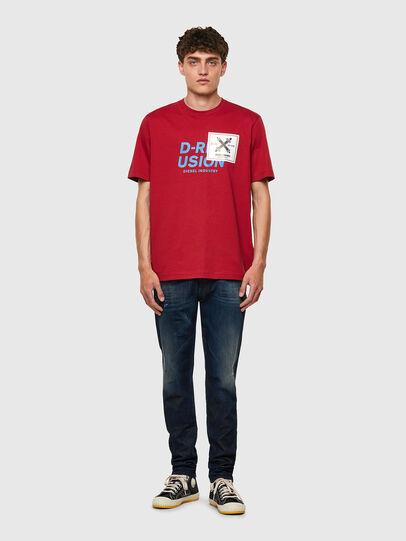 Diesel - T-JUST-B62, Brown - T-Shirts - Image 5
