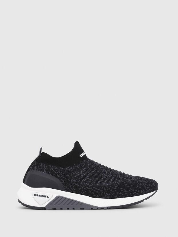 S-KB ATHL SOCK, Black/Violet - Sneakers