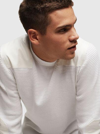Diesel - K-LESTER, White - Sweaters - Image 5