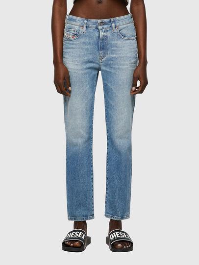 Diesel - D-Joy Slim Jeans 09A07, Light Blue - Jeans - Image 1