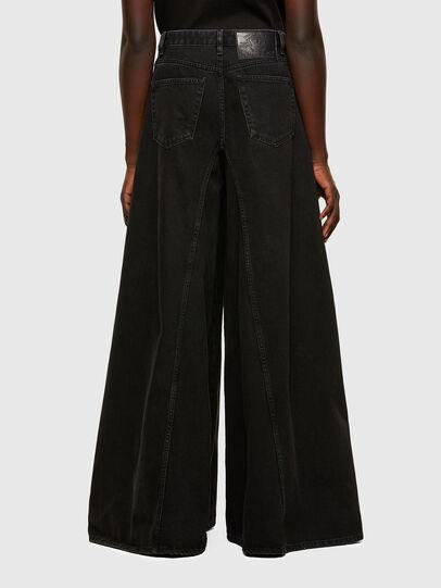 Diesel - D-Spritzz Flare Jeans 009RN, Black/Dark Grey - Jeans - Image 2