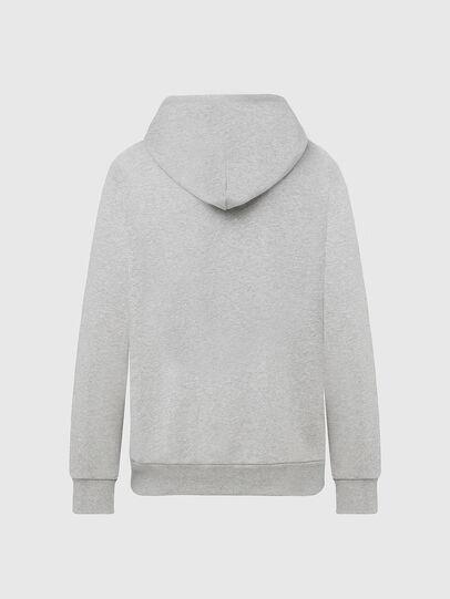 Diesel - S-GIR-HOOD-DIVISION-, Light Grey - Sweatshirts - Image 2