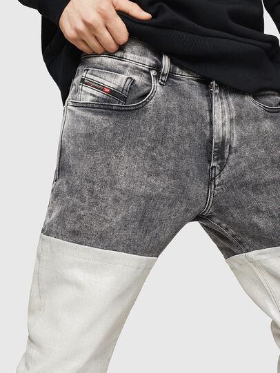 Diesel - D-Strukt 069GK, Black/Dark Grey - Jeans - Image 3