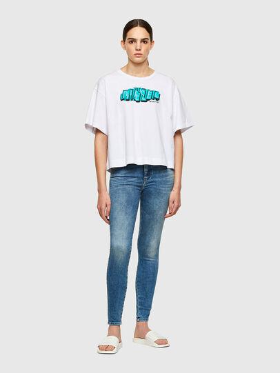 Diesel - Slandy High Skinny Jeans 009PT, Light Blue - Jeans - Image 5